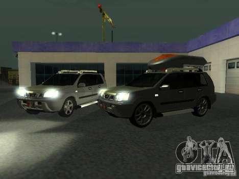 Nissan X-Trail для GTA San Andreas вид сбоку