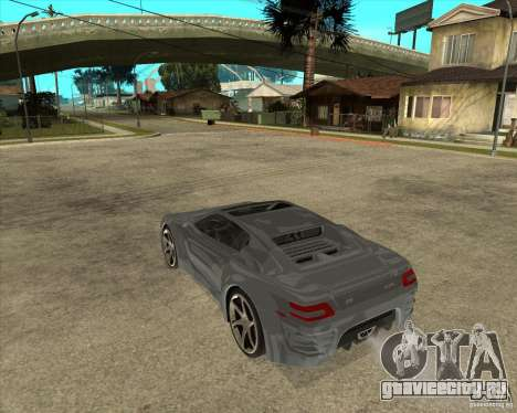 Барс Теория Гранд Туризмо для GTA San Andreas вид слева