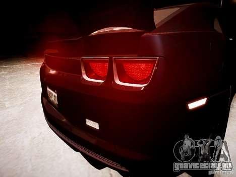 Chevrolet Camaro SS 2010 для GTA 4 вид сбоку