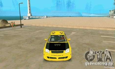 INSETTA из FlatOut 2 для GTA San Andreas вид справа