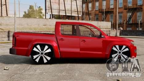Volkswagen Amarok 2.0 TDi AWD Trendline 2012 для GTA 4 вид слева