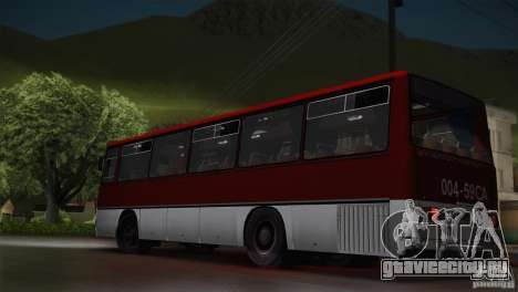 Икарус 255.01 для GTA San Andreas вид слева