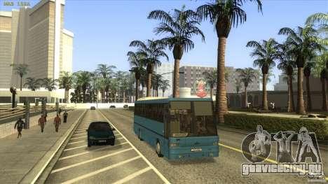 МАЗ-152А для GTA San Andreas вид сзади