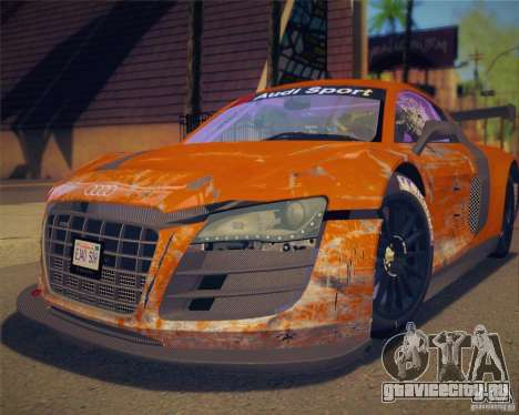 GTA IV Scratches Style для GTA San Andreas третий скриншот