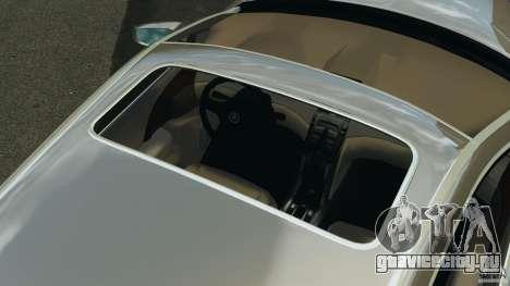 Honda Acura RL для GTA 4 вид снизу