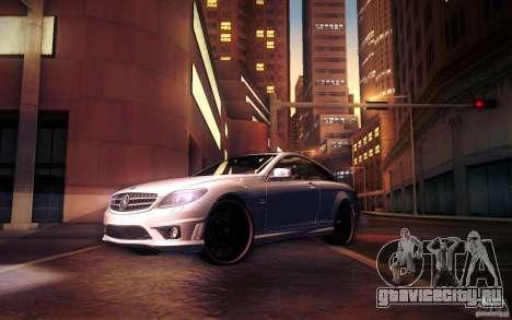 Mercedes Benz CL65 AMG для GTA San Andreas колёса