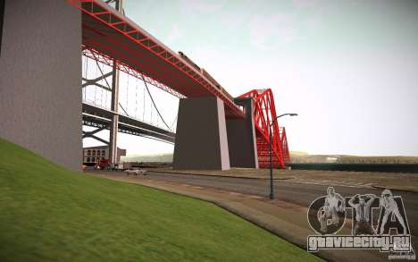 HD Red Bridge для GTA San Andreas