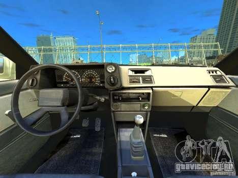 Toyota Corolla AE86 EPM v3.0 для GTA 4 вид сзади
