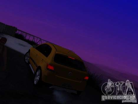 Volkswagen Gol Rallye 2012 для GTA San Andreas вид изнутри