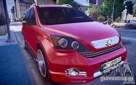 Honda CR-V Light Tuning для GTA 4 вид справа