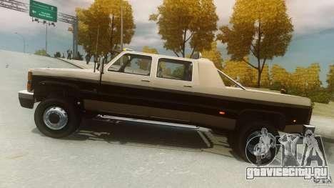 Declasse Yosemite Dually для GTA 4 вид слева