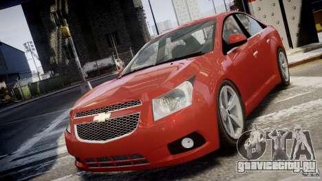 Chevrolet Cruze для GTA 4 вид изнутри