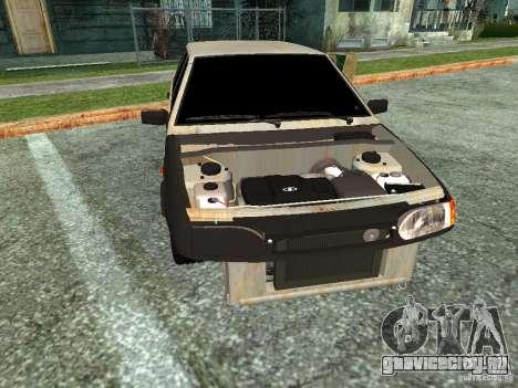 ВАЗ 2114 Бродяга для GTA San Andreas вид сзади слева