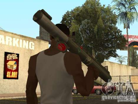 LAW Rocket launcher для GTA San Andreas второй скриншот