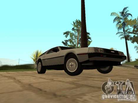 DeLorean DMC-12 1982 для GTA San Andreas вид справа