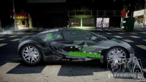 Bugatti Veyron 16.4 v1.0 new skin для GTA 4 вид изнутри