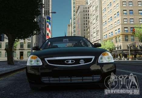 ВАЗ 2170 Lada Priora для GTA 4 вид изнутри