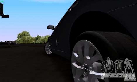 Pontiac G8 GXP для GTA San Andreas вид сзади