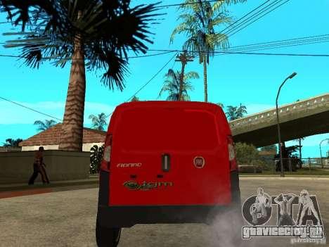 Fiat Fiorino Combi для GTA San Andreas вид сзади слева