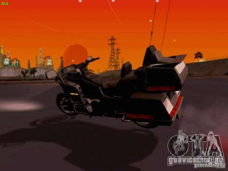 Honda Goldwing GL 1500 1990 г. для GTA San Andreas вид слева