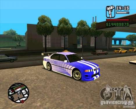 BMW 730i X-Games tuning для GTA San Andreas