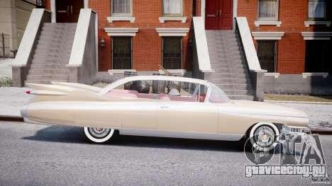 Cadillac Eldorado 1959 (Lowered) для GTA 4 вид изнутри