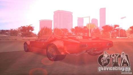 De Tomaso Pantera для GTA Vice City вид слева