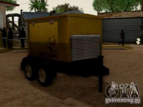 Trailer Generator для GTA San Andreas вид справа