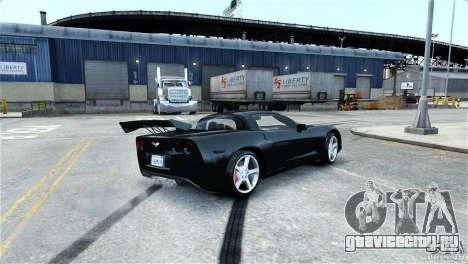 Chevrolet Corvette C6 Convertible v1.0 для GTA 4 колёса