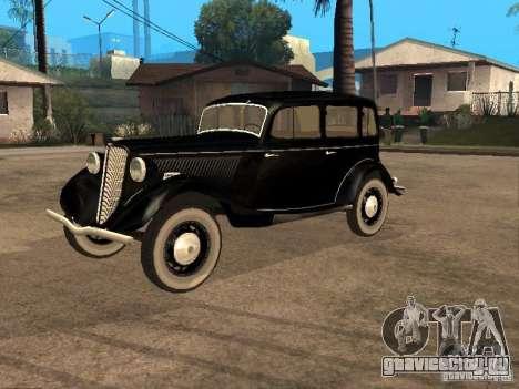 ГАЗ М1 для GTA San Andreas