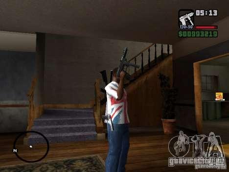 Tec9 HD для GTA San Andreas