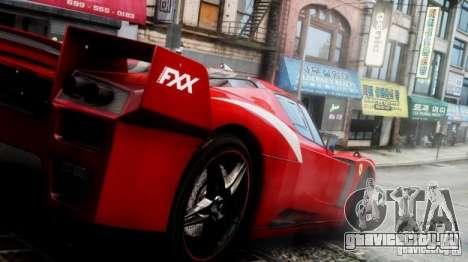 Ferrari FXX Evoluzione для GTA 4 вид справа