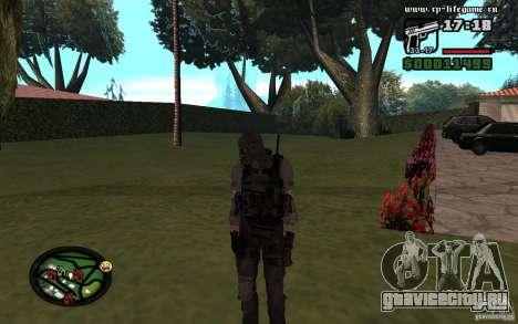 Новые женские и мужские скины для армии. для GTA San Andreas