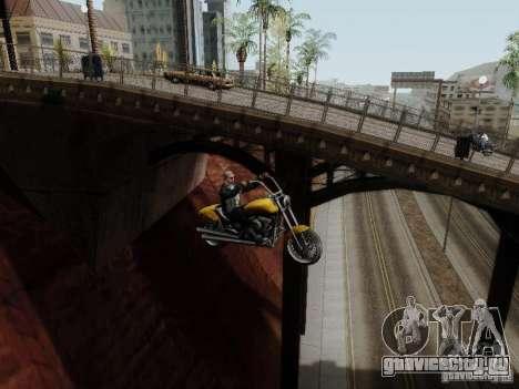Vice City Freeway для GTA San Andreas вид изнутри