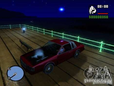 Timecyc BETA 2.0 для GTA San Andreas четвёртый скриншот