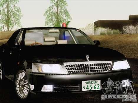 Nissan Laurel GC35 Kouki Unmarked Police Car для GTA San Andreas вид сзади