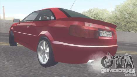 Audi S2 для GTA San Andreas вид справа