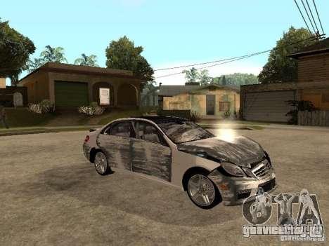 Mercedes-Bens e63 AMG для GTA San Andreas вид сверху