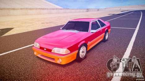 Ford Mustang GT 1993 Rims 2 для GTA 4