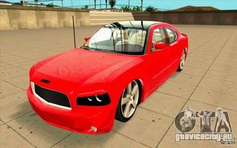 Dodge Charger RT 2010 для GTA San Andreas