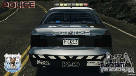 LCPD K9 Unit для GTA 4 вид снизу