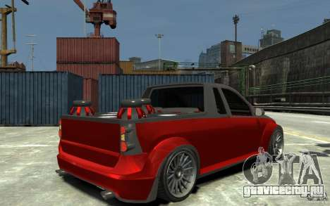 Dacia Pick-up Tuning для GTA 4 вид справа