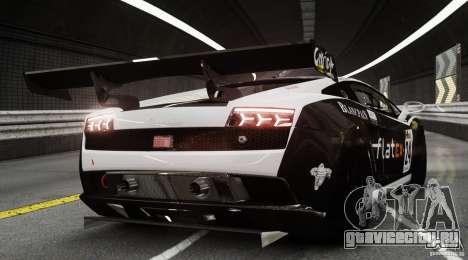 Lamborghini Gallardo LP560-4 GT3 2010 для GTA 4 вид сзади слева