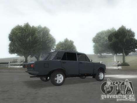 ВАЗ 2101 для GTA San Andreas вид снизу