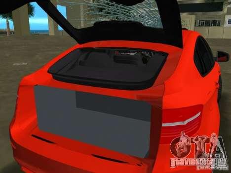 BMW X6M для GTA Vice City вид слева