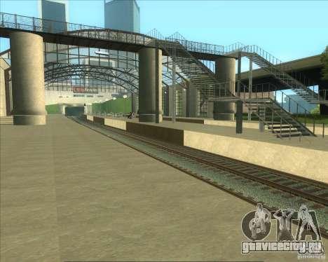 Высокие платформы на ж/д станциях для GTA San Andreas четвёртый скриншот