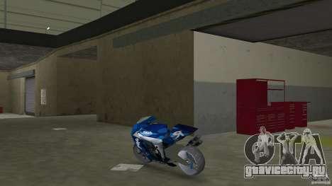 Yamaha Sportbike beta 1.0 для GTA Vice City вид сзади слева