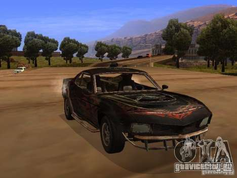 Car from FlatOut 2 для GTA San Andreas вид сбоку