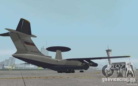 Berijew A-50 Mainstay для GTA San Andreas вид сзади