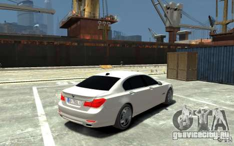Bmw 750 LI v1.0 для GTA 4 вид справа